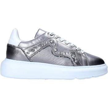 Cipők Női Divat edzőcipők Manila Grace S016LW Ezüst