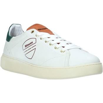 Cipők Férfi Rövid szárú edzőcipők Blauer F0KEITH02/LES Fehér