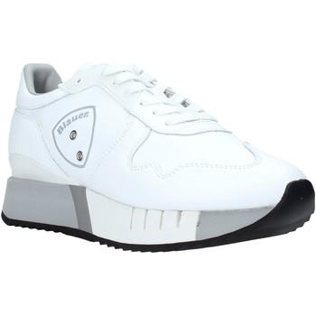 Cipők Férfi Rövid szárú edzőcipők Blauer F0MYRTLE02/LEA Fehér