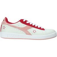 Cipők Női Rövid szárú edzőcipők Diadora 501.174.329 Fehér