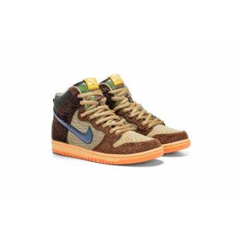 Cipők Rövid szárú edzőcipők Nike SB Dunk High x Concepts
