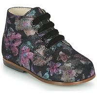 Cipők Lány Magas szárú edzőcipők Little Mary MILOTO Fekete