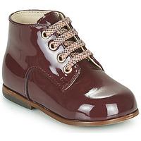 Cipők Lány Magas szárú edzőcipők Little Mary MILOTO Bordó