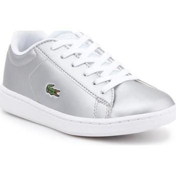 Cipők Gyerek Rövid szárú edzőcipők Lacoste kids 7-34SPC0006334 srebrny