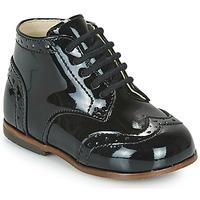 Cipők Lány Magas szárú edzőcipők Little Mary LORD Fekete