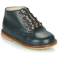 Cipők Lány Magas szárú edzőcipők Little Mary JUDITE Kék