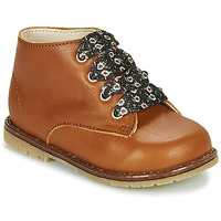 Cipők Lány Magas szárú edzőcipők Little Mary JUDITE Barna