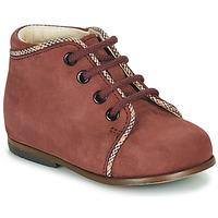 Cipők Lány Magas szárú edzőcipők Little Mary MEGGIE Bordó