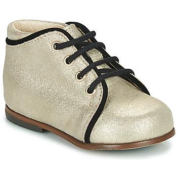 Cipők Lány Magas szárú edzőcipők Little Mary MEGGIE Ezüst