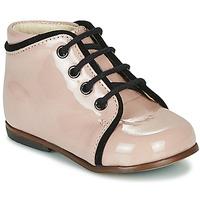 Cipők Lány Magas szárú edzőcipők Little Mary MEGGIE Rózsaszín