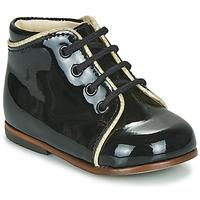 Cipők Lány Magas szárú edzőcipők Little Mary MEGGIE Fekete