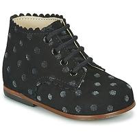 Cipők Lány Magas szárú edzőcipők Little Mary VIVALDI Fekete