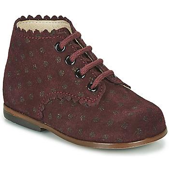 Cipők Lány Magas szárú edzőcipők Little Mary VIVALDI Bordó