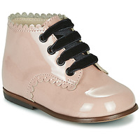 Cipők Lány Magas szárú edzőcipők Little Mary VIVALDI Rózsaszín
