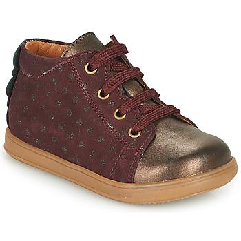 Cipők Lány Rövid szárú edzőcipők Little Mary CLELIE Bordó