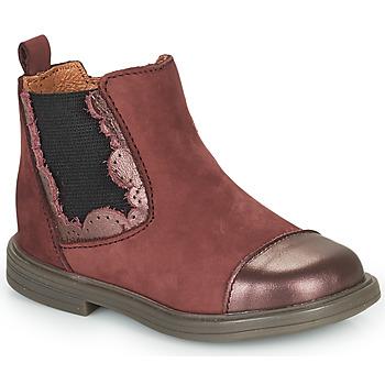 Cipők Lány Csizmák Little Mary ELVIRE Bordó