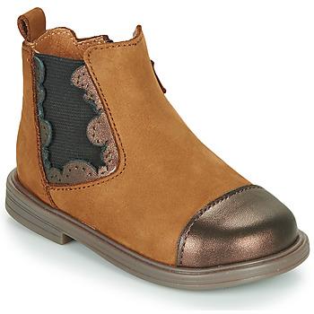 Cipők Lány Csizmák Little Mary ELVIRE Barna