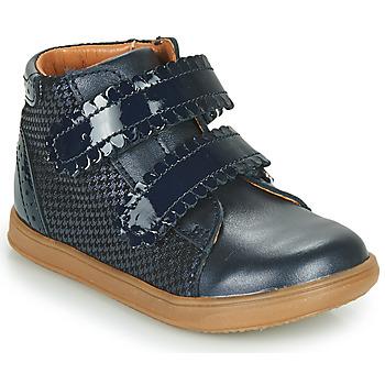 Cipők Lány Magas szárú edzőcipők Little Mary CRISTIE Kék