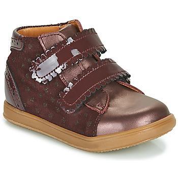 Cipők Lány Magas szárú edzőcipők Little Mary CRISTIE Bordó