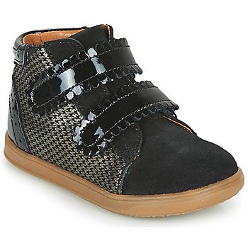 Cipők Lány Magas szárú edzőcipők Little Mary CRISTIE Fekete