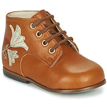 Cipők Lány Magas szárú edzőcipők Little Mary MEIGE Barna