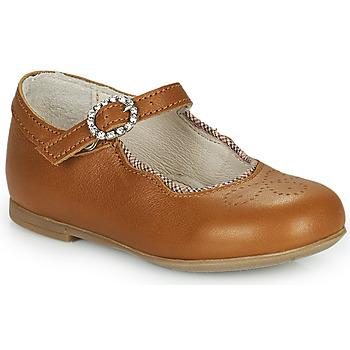 Cipők Lány Balerina cipők  Little Mary AUBERIE Barna