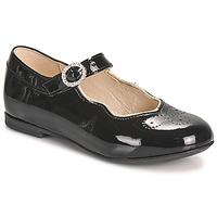Cipők Lány Balerina cipők  Little Mary AUBERIE Fekete