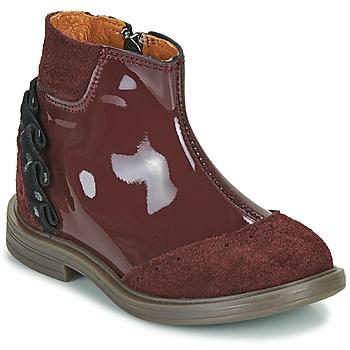 Cipők Lány Csizmák Little Mary ELSIE Piros