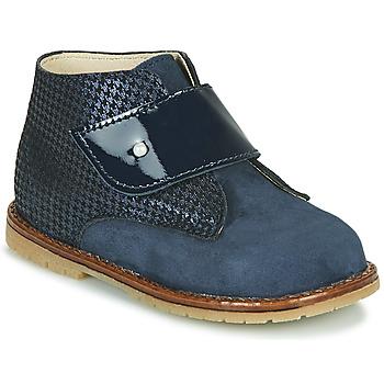 Cipők Lány Magas szárú edzőcipők Little Mary JANYCE Kék