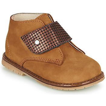 Cipők Lány Magas szárú edzőcipők Little Mary JANYCE Barna
