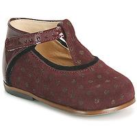Cipők Lány Magas szárú edzőcipők Little Mary BETHANY Bordó