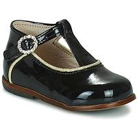 Cipők Lány Magas szárú edzőcipők Little Mary BETHANY Fekete