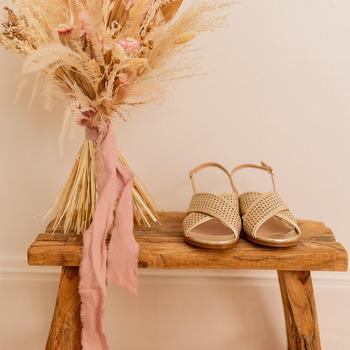 Cipők Női Szandálok / Saruk Céleste ORANGER Arany
