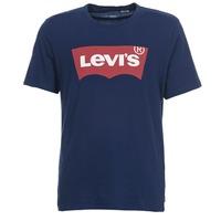 Ruhák Férfi Rövid ujjú pólók Levi's GRAPHIC SET IN Tengerész
