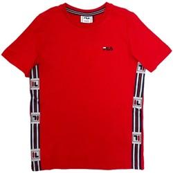 Ruhák Gyerek Rövid ujjú pólók Fila 688118 Piros