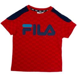 Ruhák Gyerek Rövid ujjú pólók Fila 688077 Piros