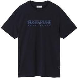 Ruhák Férfi Rövid ujjú pólók Napapijri NP0A4EOB Kék