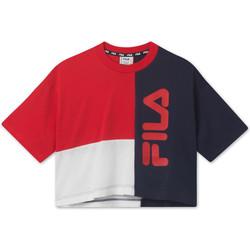Ruhák Gyerek Rövid ujjú pólók Fila 687998 Piros