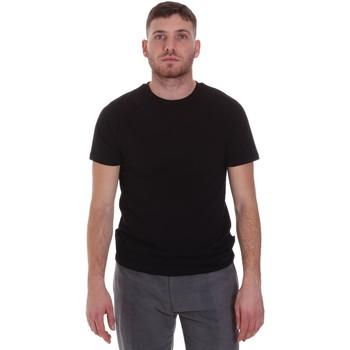 Ruhák Férfi Rövid ujjú pólók Sseinse MI1692SS Fekete