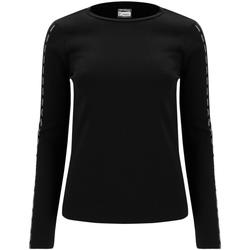 Ruhák Női Hosszú ujjú pólók Freddy F0WSDT6 Fekete