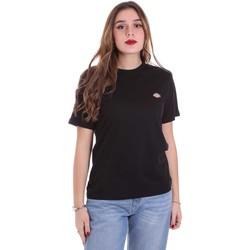 Ruhák Női Rövid ujjú pólók Dickies DK0A4TMYBLK1 Fekete