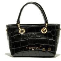 Táskák Női Bevásárló szatyrok / Bevásárló táskák Atelier Enai ROSI NOIR