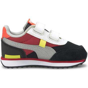 Cipők Gyerek Rövid szárú edzőcipők Puma Future rider nf Piros