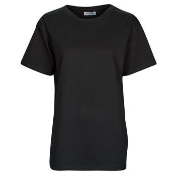 Ruhák Női Rövid ujjú pólók Yurban OKIME Fekete