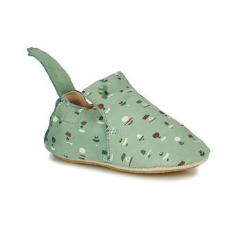 Cipők Gyerek Mamuszok Easy Peasy BLUBLU Zöld