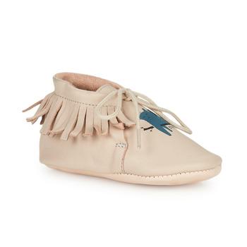Cipők Gyerek Mamuszok Easy Peasy MEXIMOO Bézs