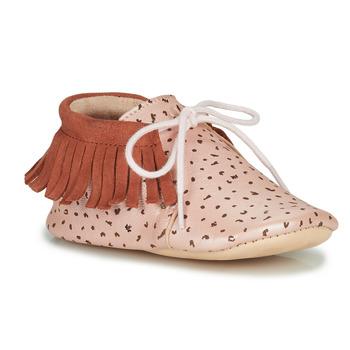 Cipők Lány Mamuszok Easy Peasy MEXIMOO Rózsaszín