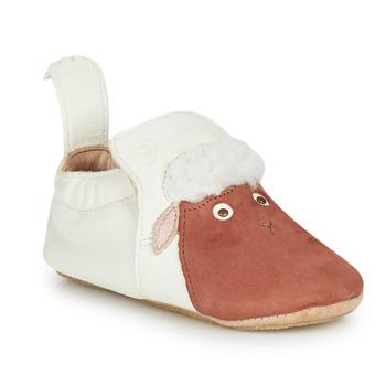 Cipők Gyerek Mamuszok Easy Peasy BLUBLU MOUTON Fehér