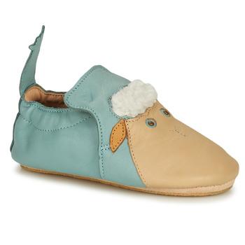 Cipők Gyerek Mamuszok Easy Peasy BLUBLU MOUTON Kék