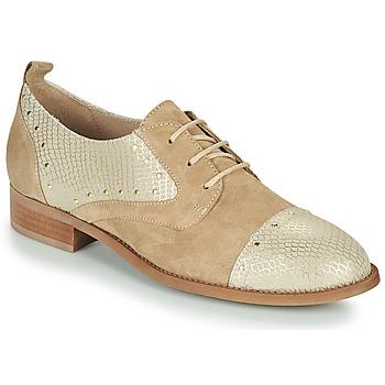Cipők Női Oxford cipők San Marina MAXYE/VEL Homokszín